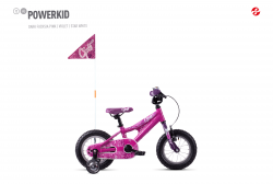 GHOST Powerkid 12 - Pink / Violet - 12