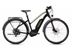 GHOST Ebikes SQUARE TREKKING B5.8 LADIES Jet Black / Ext Gold - XS (145-160cm)